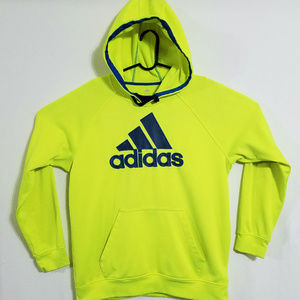 2/$40 Adidas Men's L Stitched Logo Pullover Hoodie